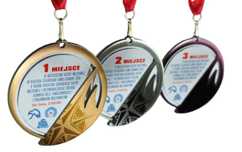 Medale metalowe, medal metalowy
