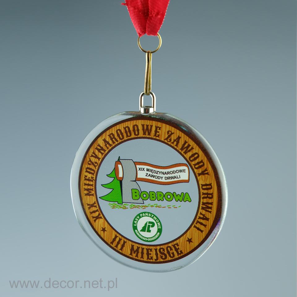 producent szklanych medali