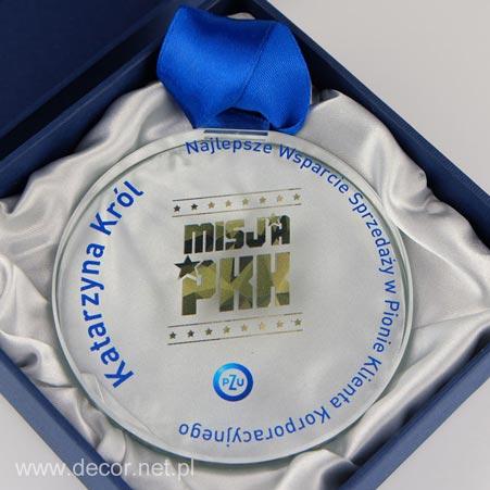 Szklany medal