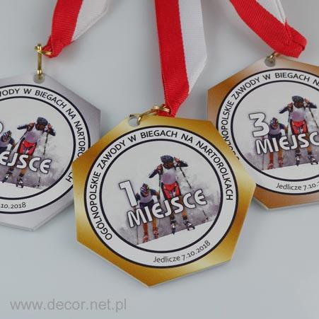 medale metalowe
